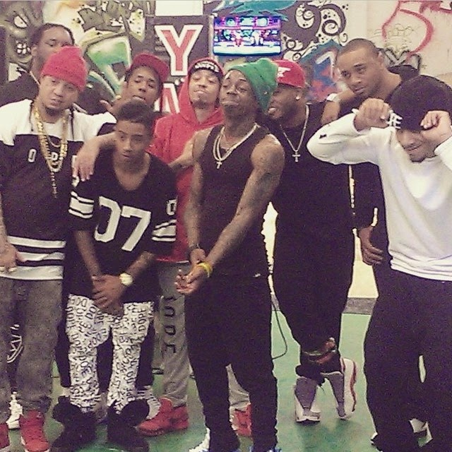 fotos de lil wayne mack maine flow euro hood lil twist cory gunz guudda gudda young money cypher
