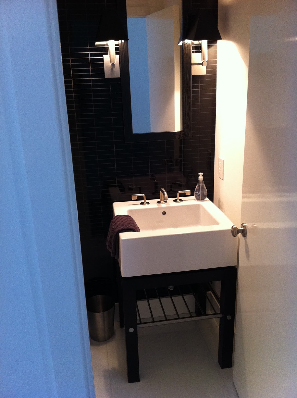 Powder Room Vanity Reference Home Ideas Pinterest
