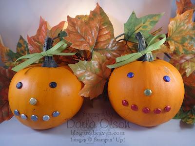 Do it yourself no carve pumpkins