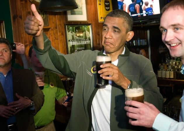 Frases De st-st patrick-saint patrick: Obama Celebrates St. Patrick's Day