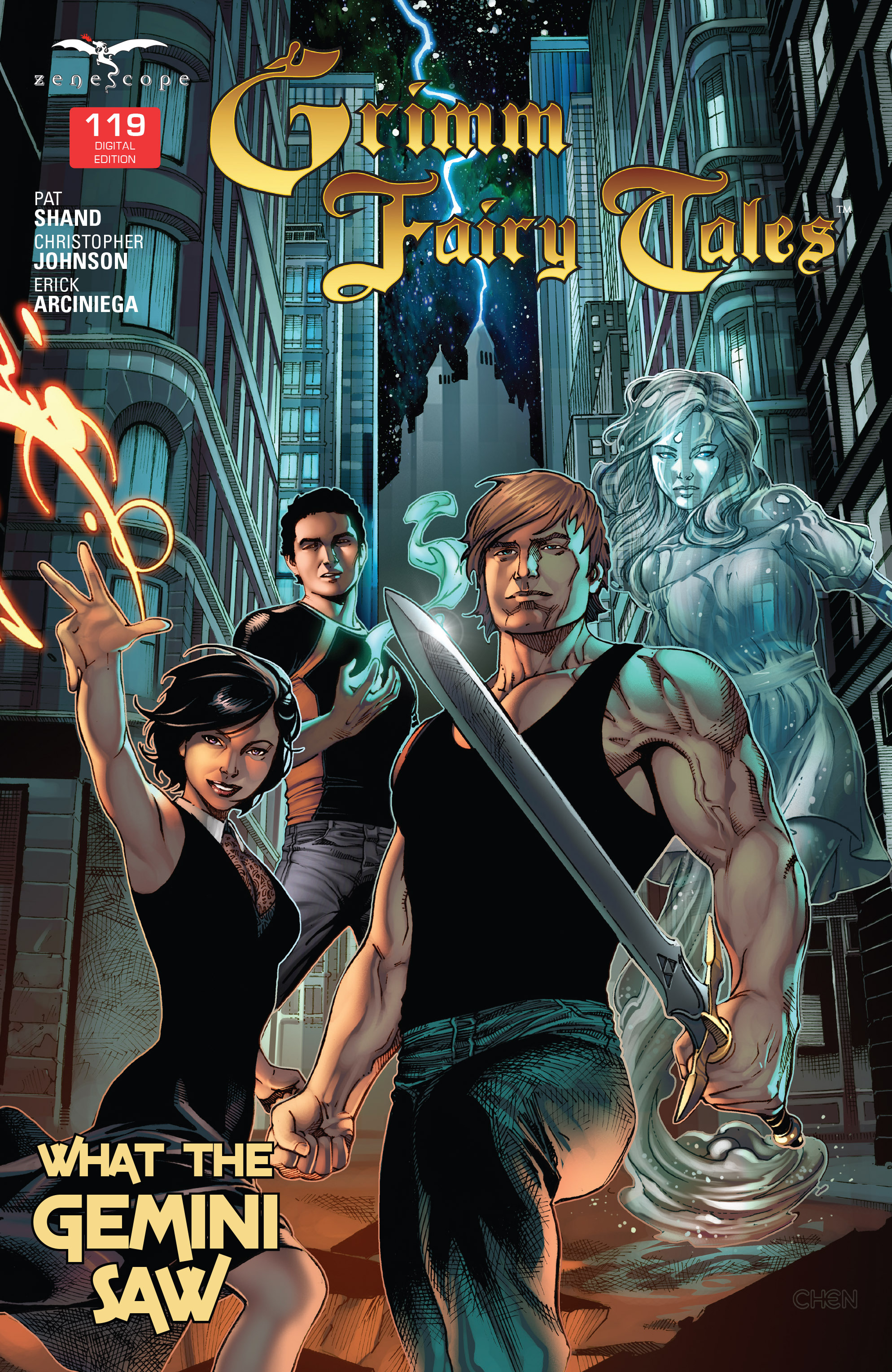 Grimm Fairy Tales (2005) Issue #119 #122 - English 1