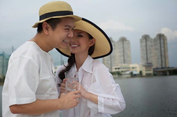Muôn kiểu tận hưởng tuần trăng mật lãng mạn của sao Việt