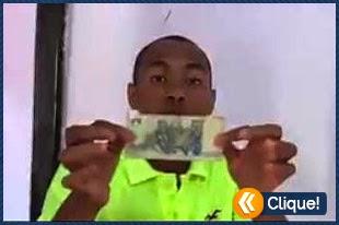 Como transformar uma nota de 2 reais em 100 reais - Truque de mágica