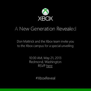 Xbox Generasi Terbaru Akan Hadir 21 Mei 2013