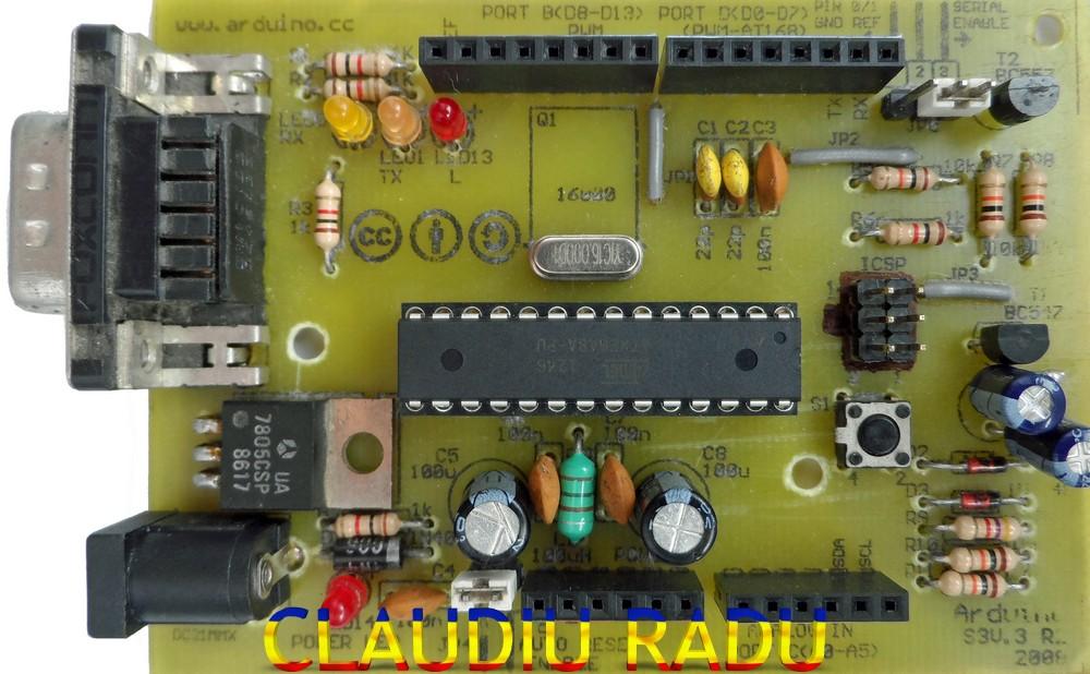CLAUDIU RADU: Arduino and my clones