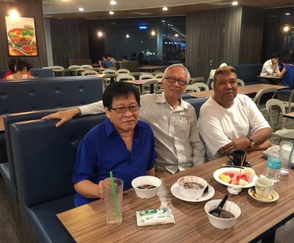 MICHAEL BANGAR WRITES ABOUT 'OCTOBER CHERRIES' AND AJL TRIO