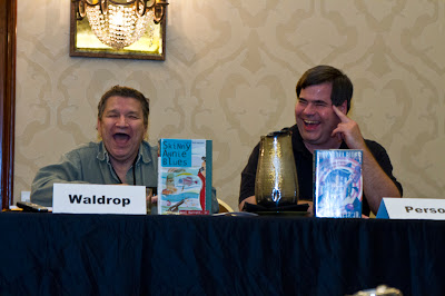 Howard Waldrop, Lawrence Person, Armadillocon 36