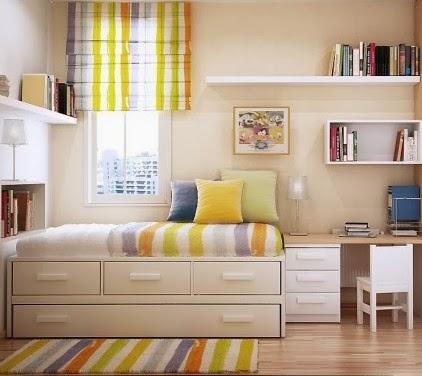desan kamar tidur anak simple minimalis menata rumah