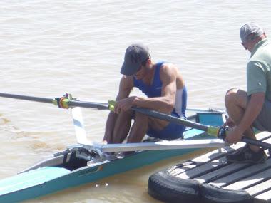 DIEGO PERINI - actualmente, entrena y apoya el entrenamiento de los más jovenes - enero 2012