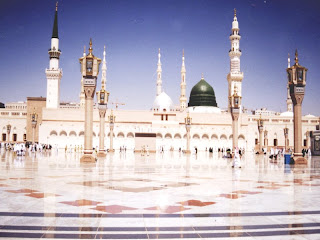 Beautiful Masjid-e-Nabvi Pictures Gallery6