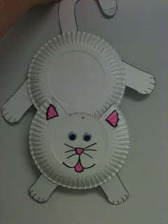 You need two paper plates and construction paper or cardstock. I used cardstock. The picture is pretty self explanatory but never hesitate to ask me ... & Craft Time w/ Ms. Jill: Cat door hanger