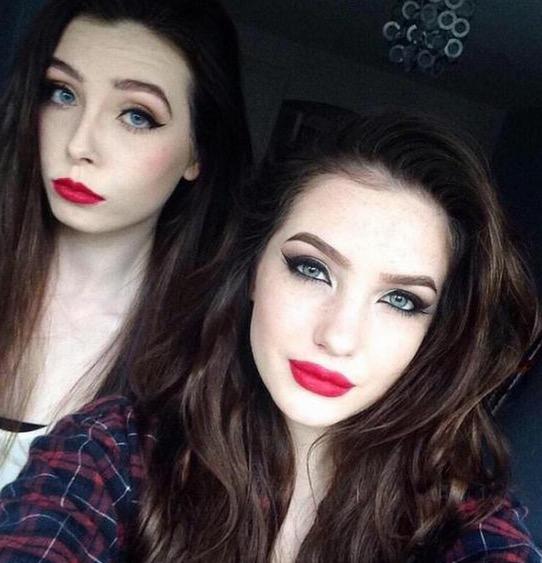Perbezaan Mengejutkan Gadis Ini Sebelum dan Selepas Pakai Make Up