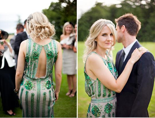An Undeclared Panache Wedding: Two Perfect Wedding Dress Alternatives