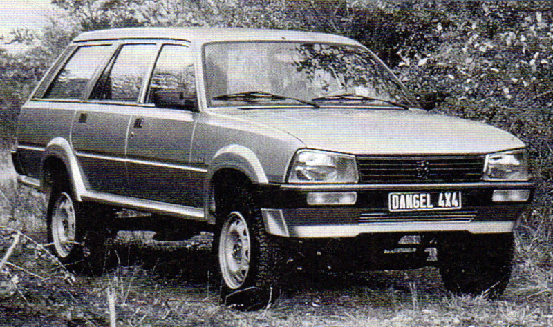el blog de test del ayer dangel peugeot 505 break 4x4. Black Bedroom Furniture Sets. Home Design Ideas