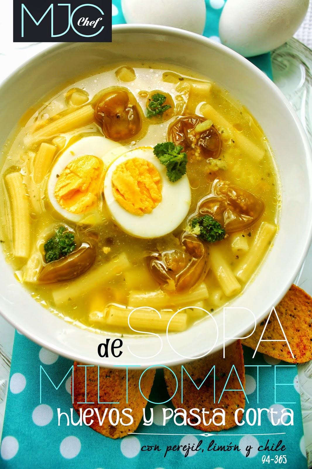 Sopa de miltomate