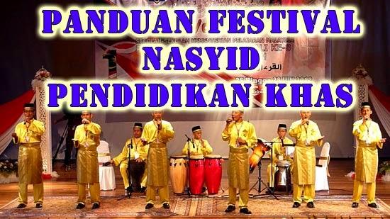 Panduan Festival Nasyid Pendidikan Khas