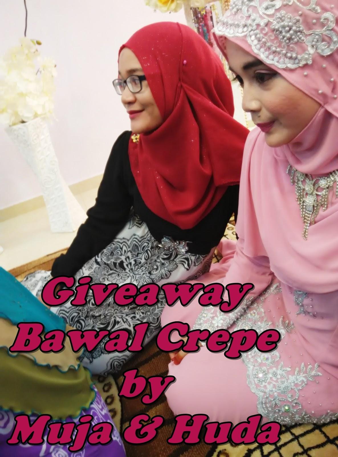 Giveaway Bawal Crepe From Muja & Huda