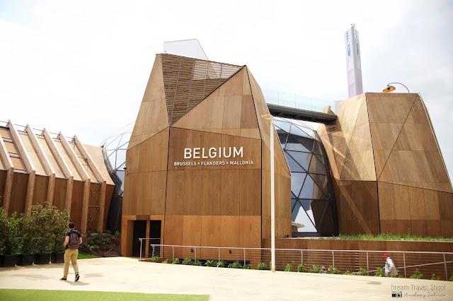 Exposition universelle Milano expo 2015 Pavillon Belgique