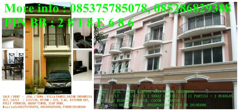 Batam Villa For Sale
