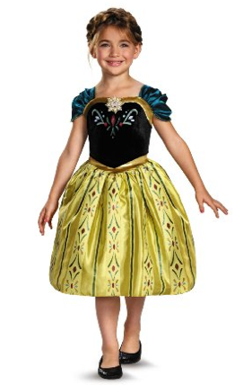 Frozen Anna Coronation Costume As Low As $20.22