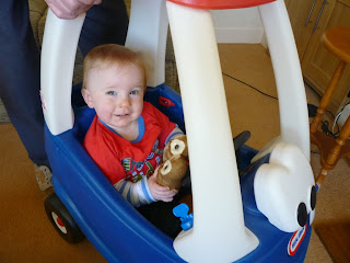 Evan in Jubilee Little Tikes