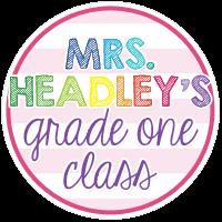 Mrs. Headley's Grade One Class
