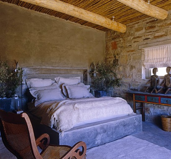 Safari Fusion blog | Sticks & stones | Rustic yest stylish farmhouse style at Kliphuis in the Great Karoo, South Africa