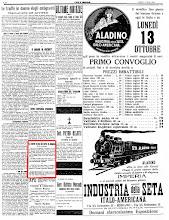"""""""ECO DI BERGAMO"""" 17 OTTOBRE 1924"""