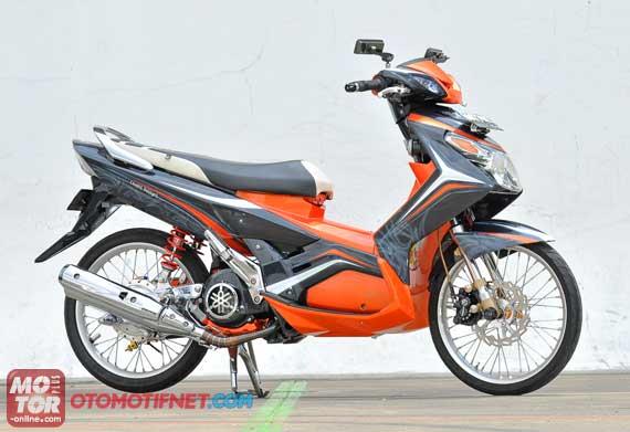 Gambar Modifikasi Motor Yamaha Nouvo Z 2005 Bore Up 155 CC title=