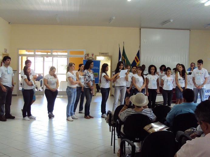 Manifesto de Repúdio apresentado pelo GESAN durante seminário
