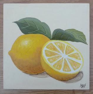 Citron,Peinture