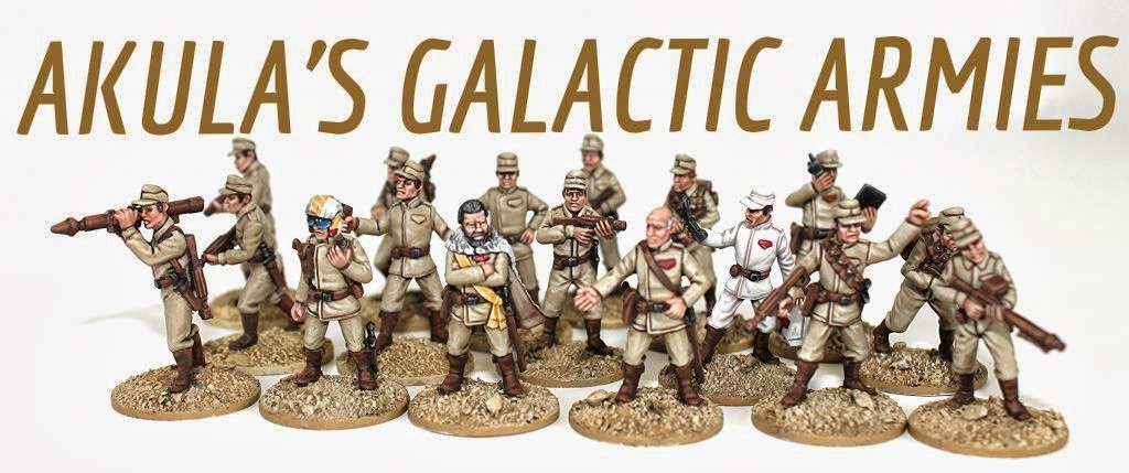 AKULA's Galactic GREENS