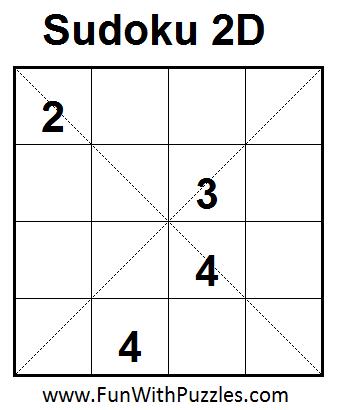 Sudoku 2D (Mini Sudoku Series #5)