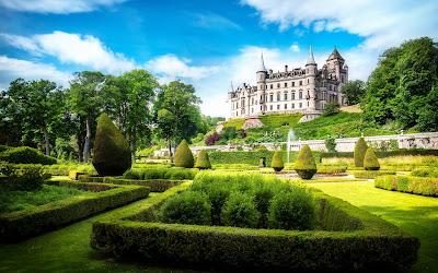 Castillo Dunrobin, Escocia.
