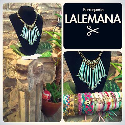 Collares colores pulseras Happy Uky Lalemana handmade