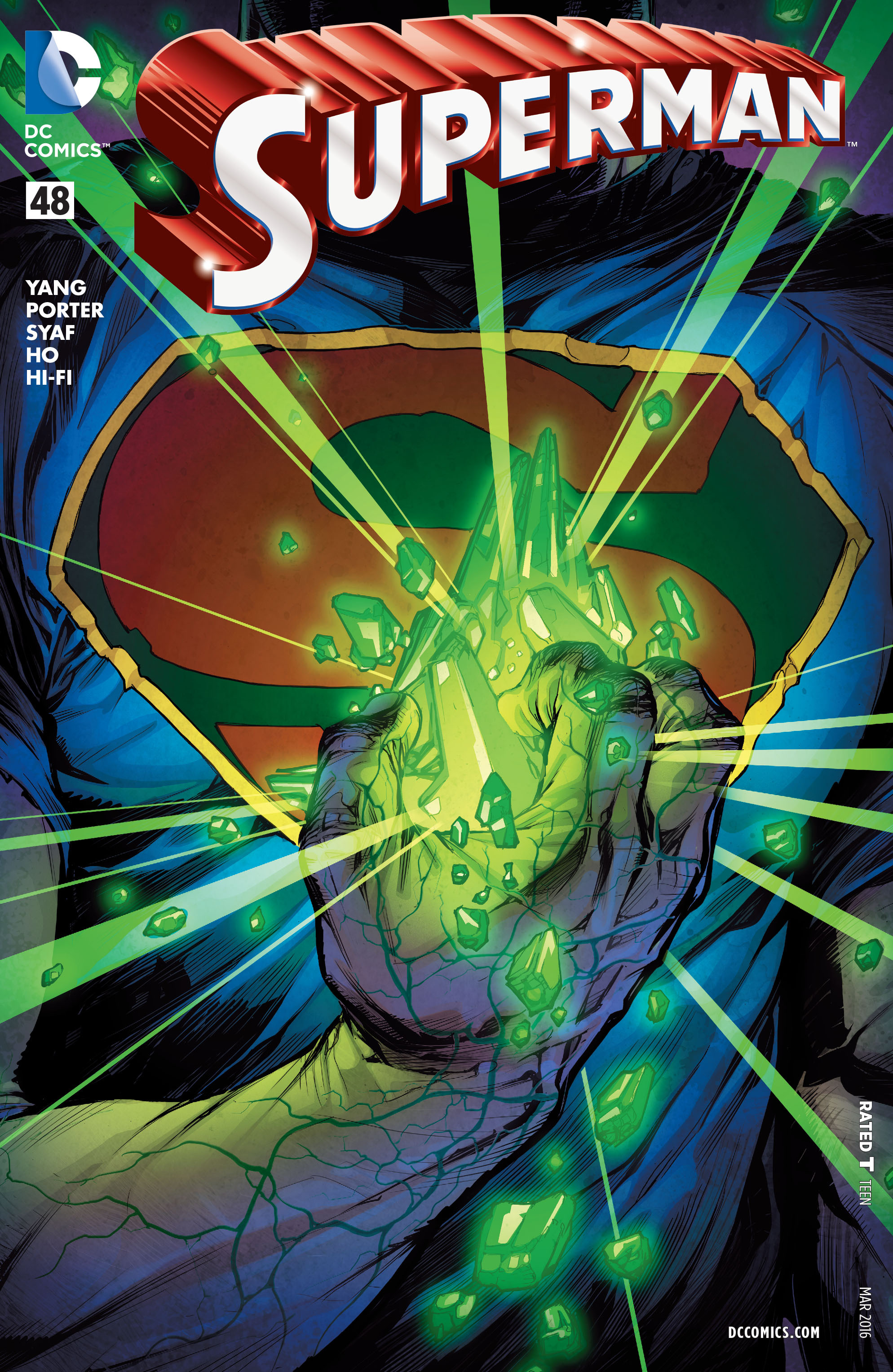 Read online Superman (2011) comic -  Issue #48 - 1