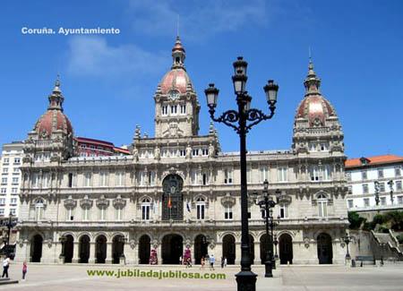 Plaza de María Pita. Coruña