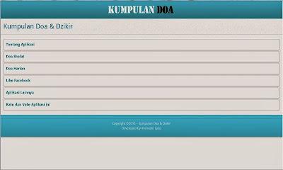 Aplikasi Android Islami