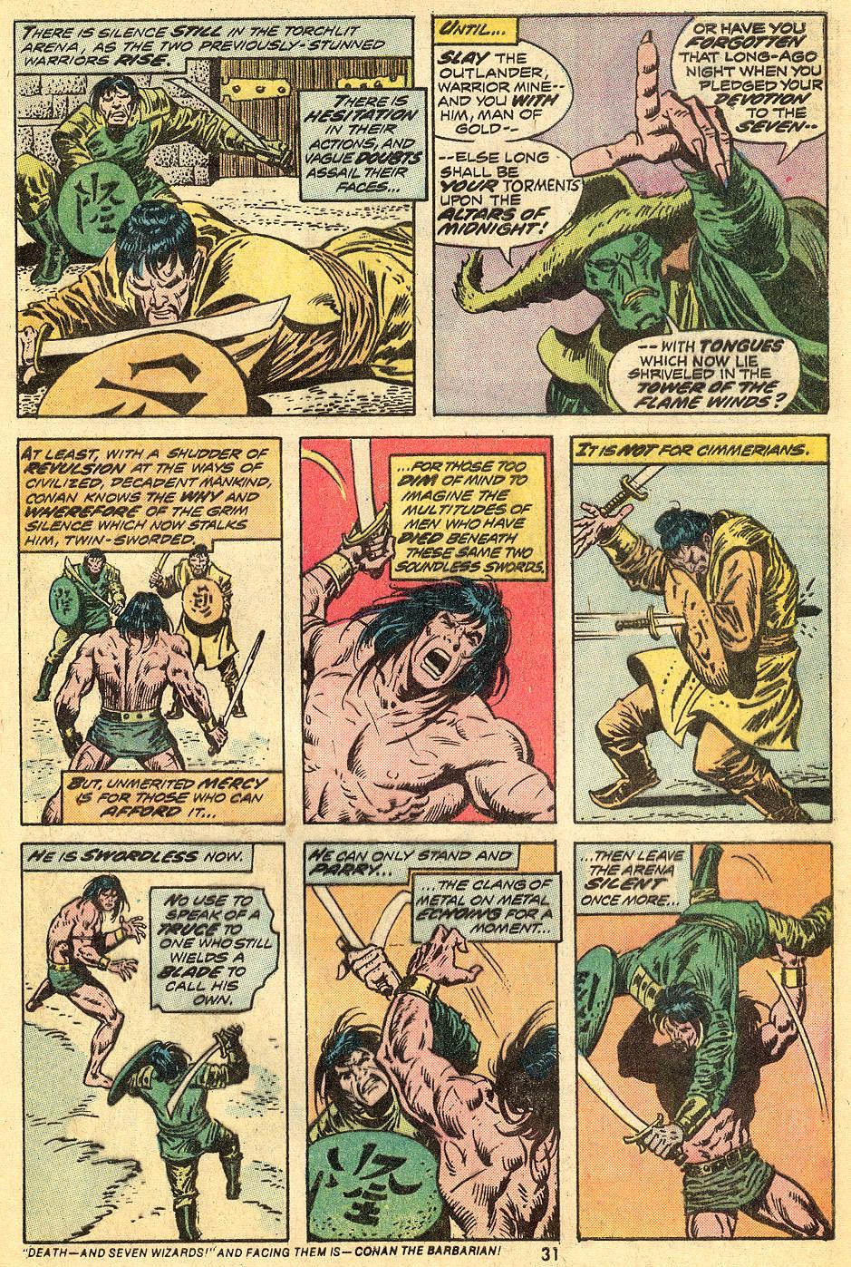 Conan the Barbarian (1970) Issue #33 #45 - English 18