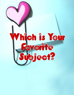 Which is Your Favorite Subject?