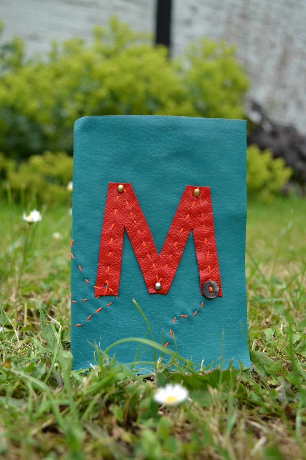 Meloleather personalised leather book made by Melo 2013