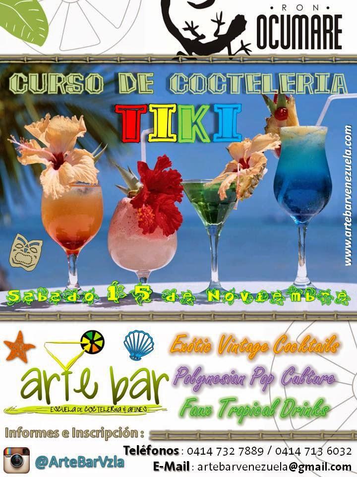 Curso de Coctelería TIKI