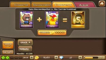 cara mendapat kartu s dari combine a+ get rich