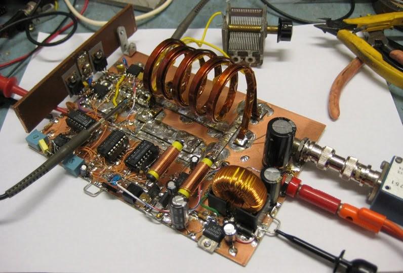 K6jca Building An 80 Meter Class E F Rf Amplifier