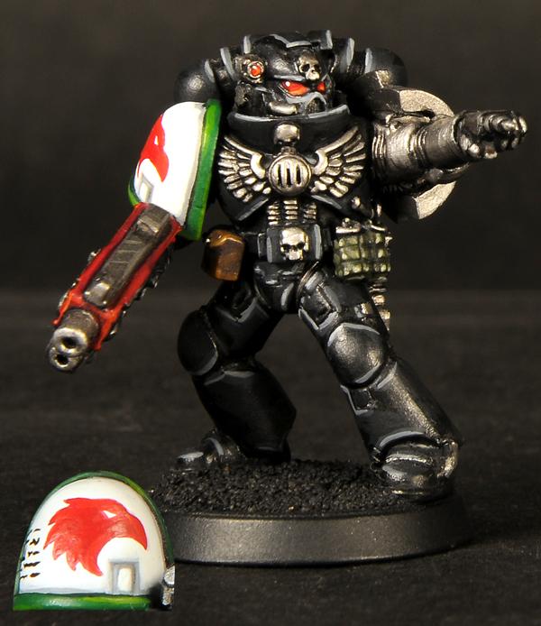 Muninns Brush Meet The Pc Tiberion Deathwatch Tactical Marine