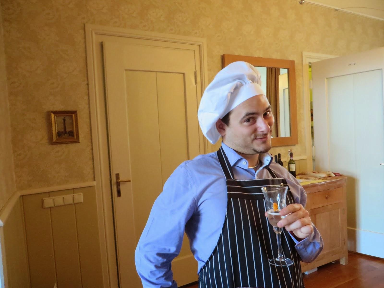 In versione chef amatoriale