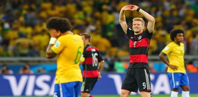 رقم قياسي جديد من التغريدات على تويتر بعد مباراة البرازيل وألمانيا