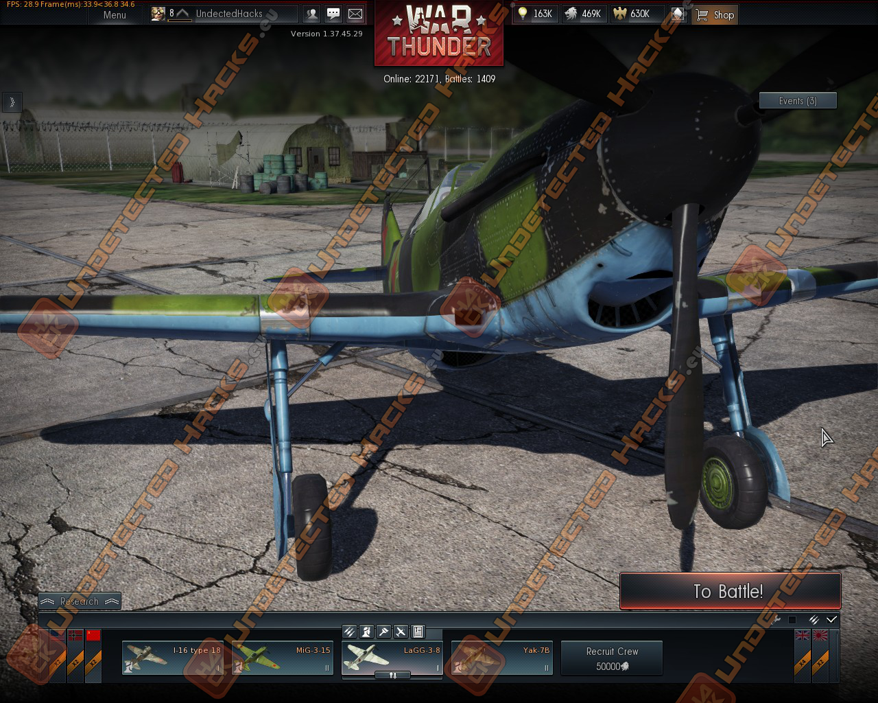 War Thunder Hack version 1.39