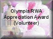 OLRWA Apreciation Award!