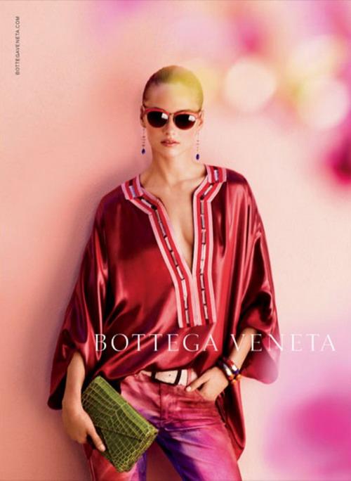 newsforbrand: Bottega Veneta spring summer 2012 ad campaign
